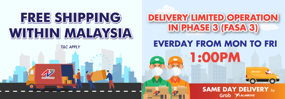 Free Shipping Within Malaysia