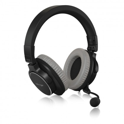 BEHRINGER BH470U Premium Stereo Headset with Detachable Microphone and USB Cable