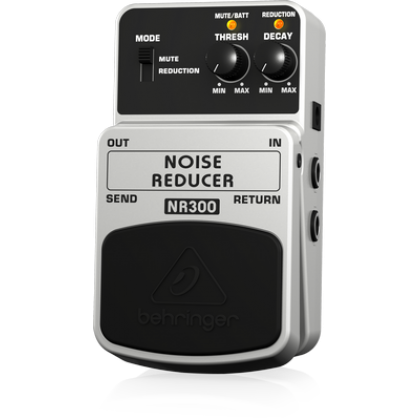 BEHRINGER NOISE REDUCER NR300 Ultimate Noise Reduction Effects Pedal
