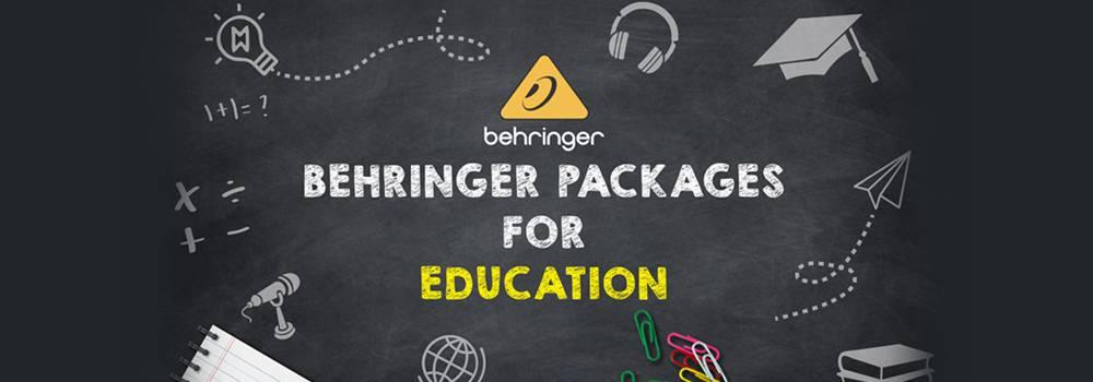 Behringer Packages for Education