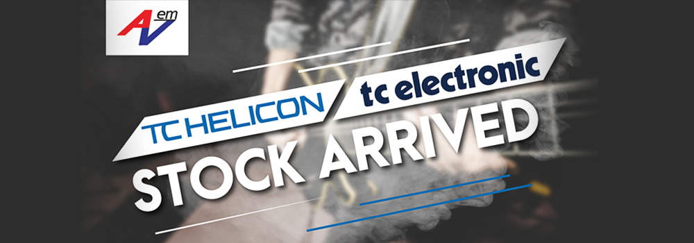 TC Helicon & TC Electronic Stock Arrived