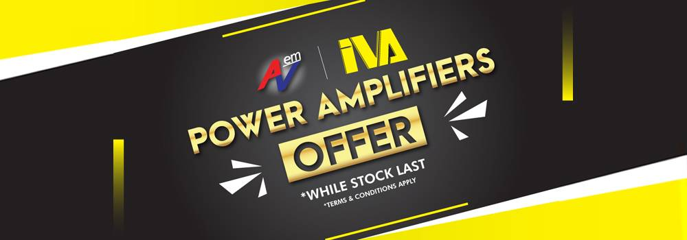 IVA Amplifiers Offer